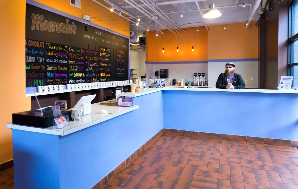 Moorenko's Ice Cream Manager Nick Augustine