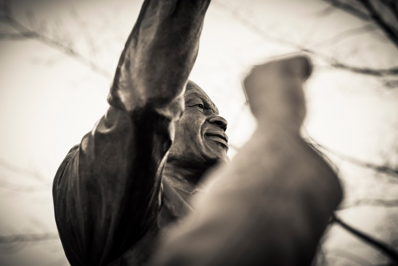 Unveiling of Marion Barry Statue, March 3