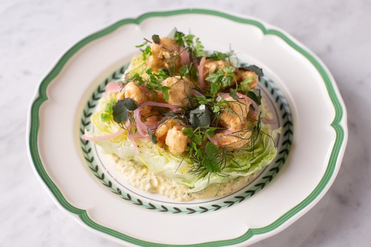 Dauphine's shrimp remoulade