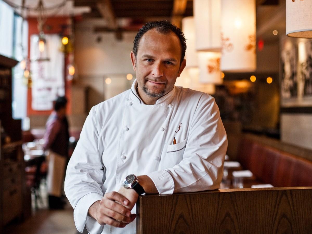 Chef and restaurateur Fabio Trabocchi in 2013