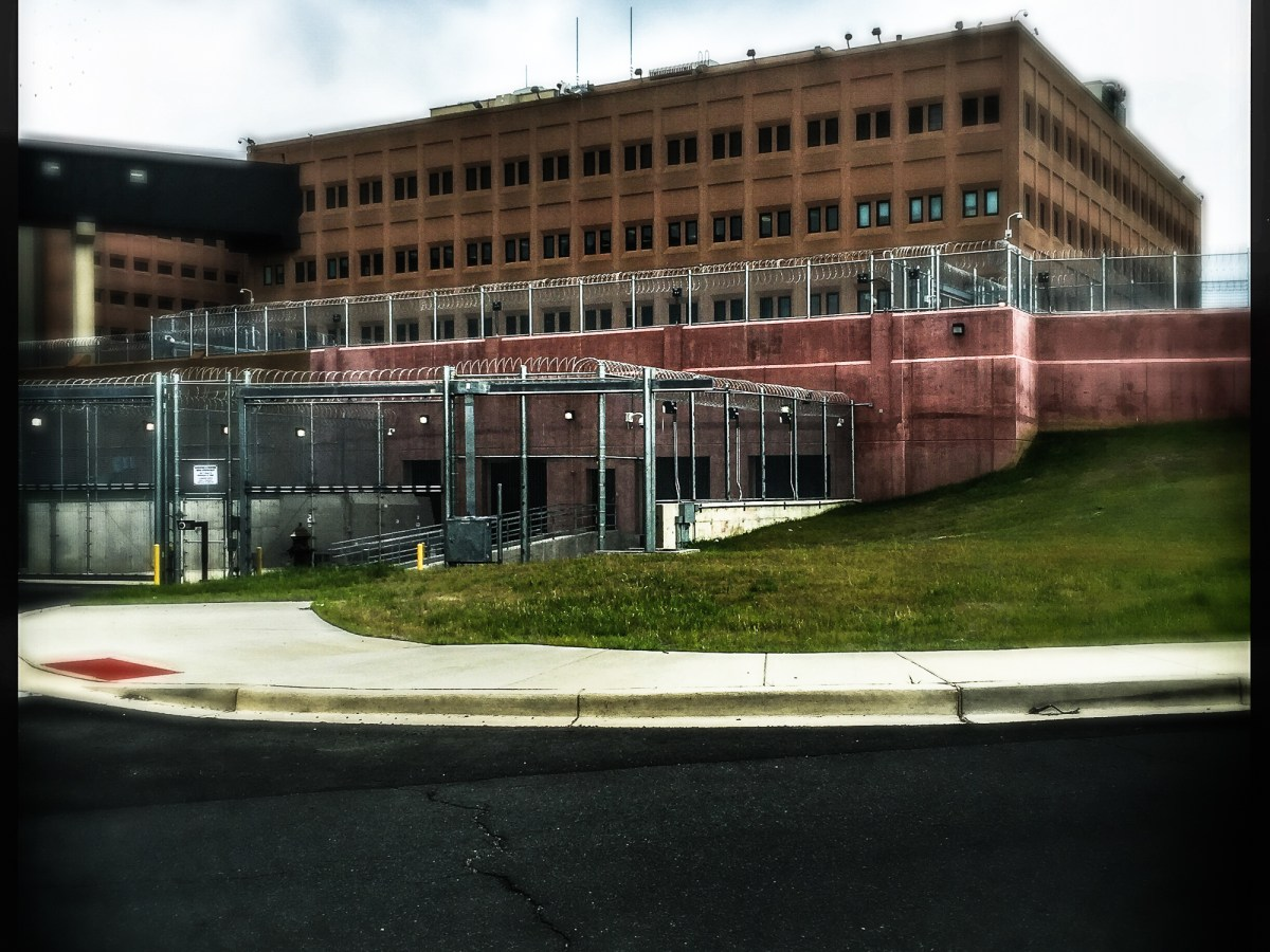 Exterior of the DC Jail