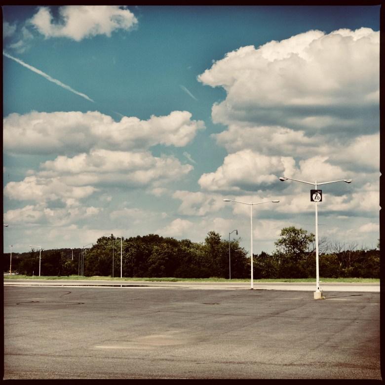 RFK Stadium parking lot, Aug. 25, 2018