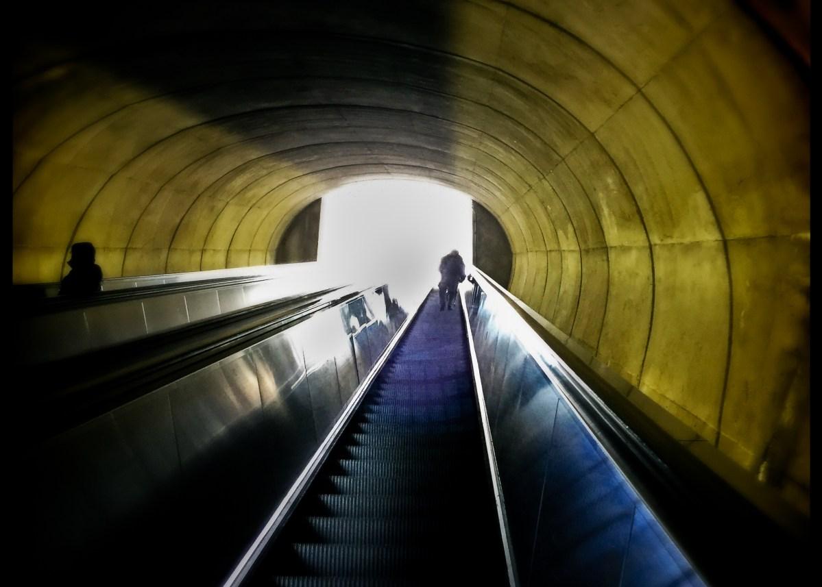 Metro tunnel in D.C.