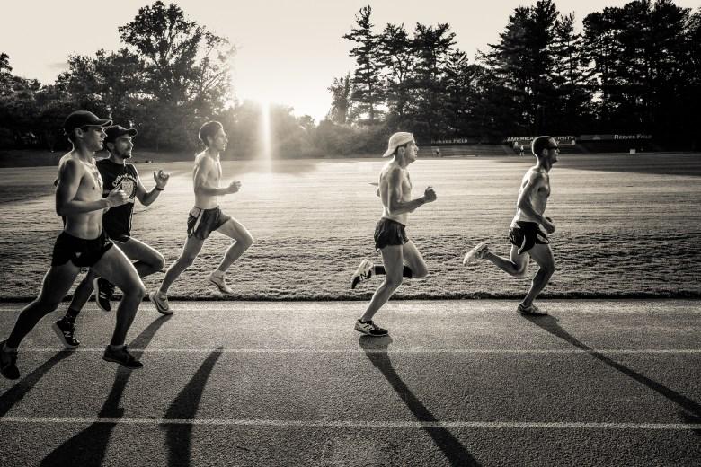 Georgetown Running Club members