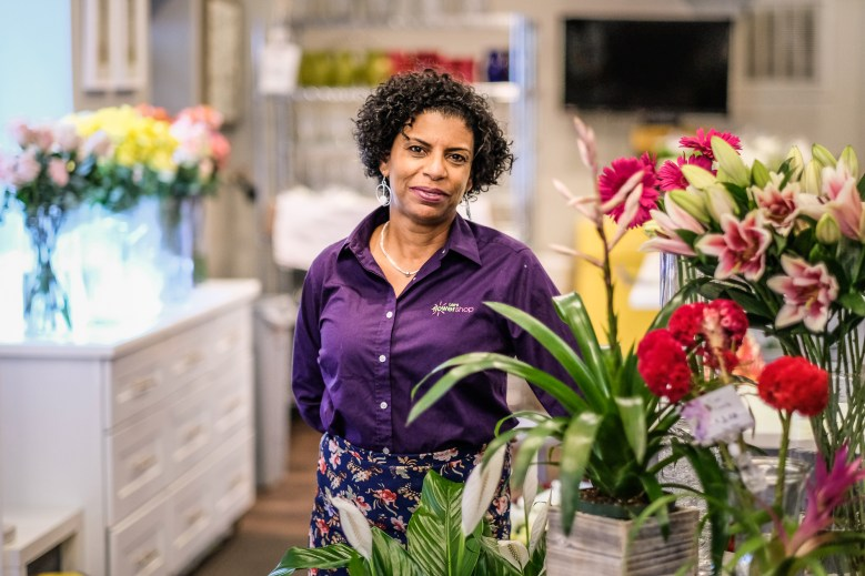 Stacie Lee Banks of Lee's Flower and Card Shop