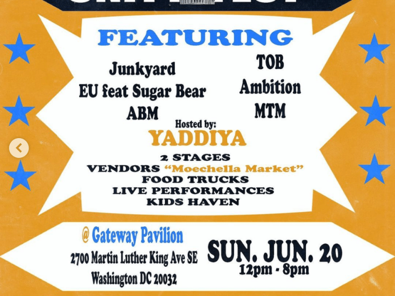 Moechella Unity Fest flyer