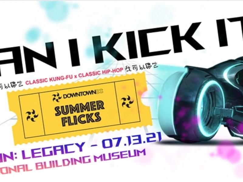 CAN I KICK IT? Screens Tron: Legacy on July 13
