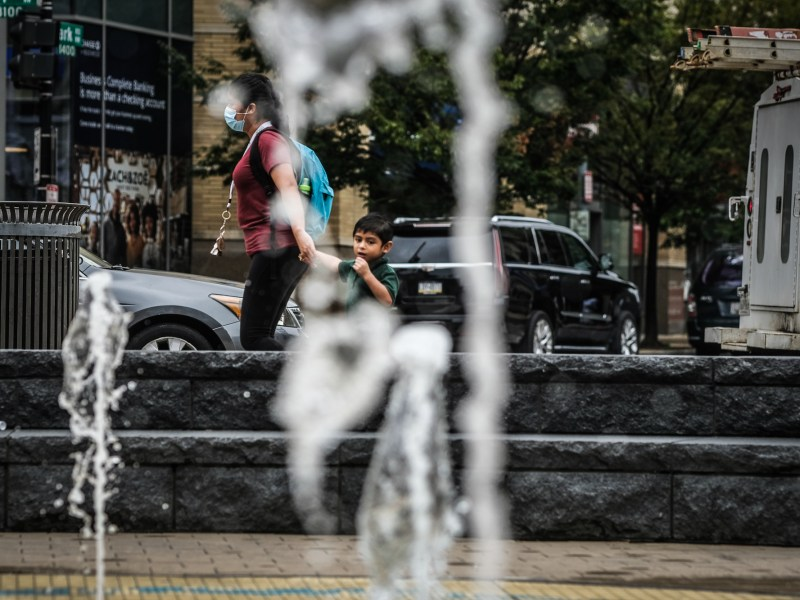 A water park in Columbia Heights, a heat island in D.C.