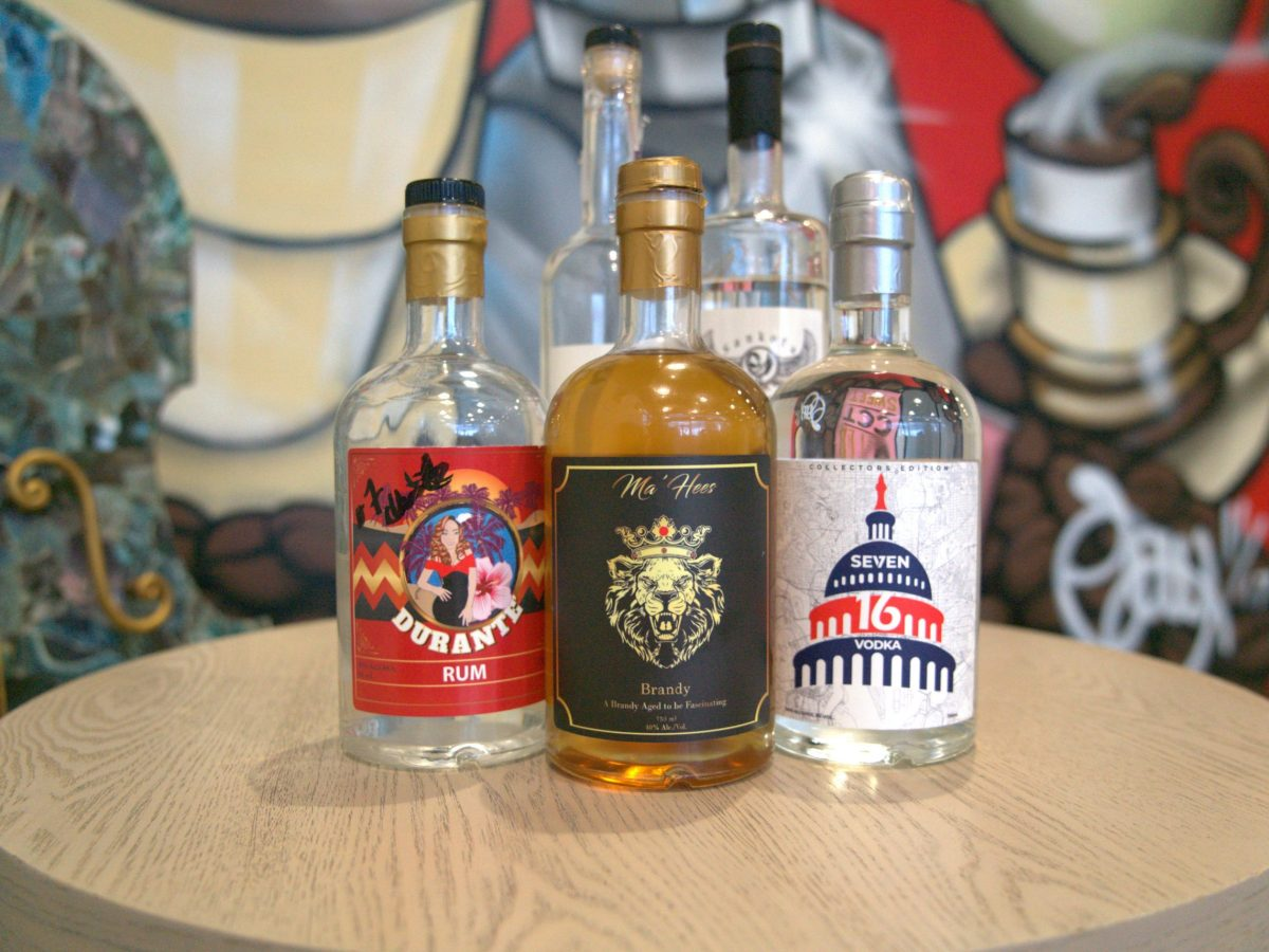 A selection of Black-owned liquors new to D.C.