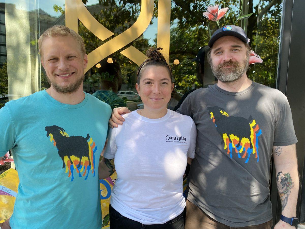Bill Jensen, Jill Tyler, and Jon Sybert
