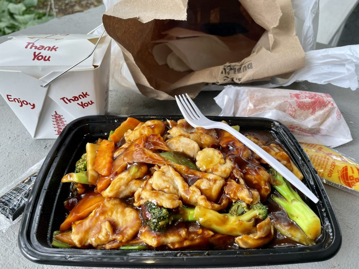 Carry-out meal from Peter's Sub Shop