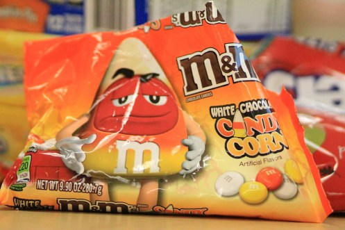 Candy Corn M&M's reminded some of the Halloween treat, but the taste of white chocolate satisfied a few.