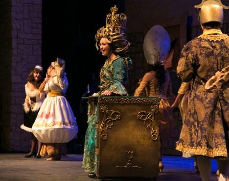 Maddie Grimm, junior, plays Madame de la Grande Bouche.