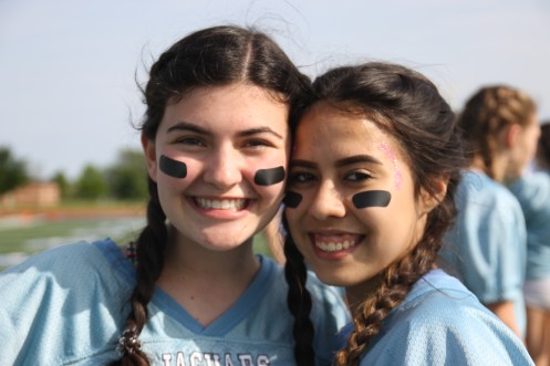 Juniors, Madison Silvestry and Abril Garica.
