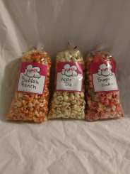 All of the popcorn flavors that I bought.