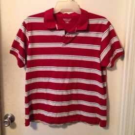 the shirt from the Waldo costume. From https://www.flickr.com/photos/
