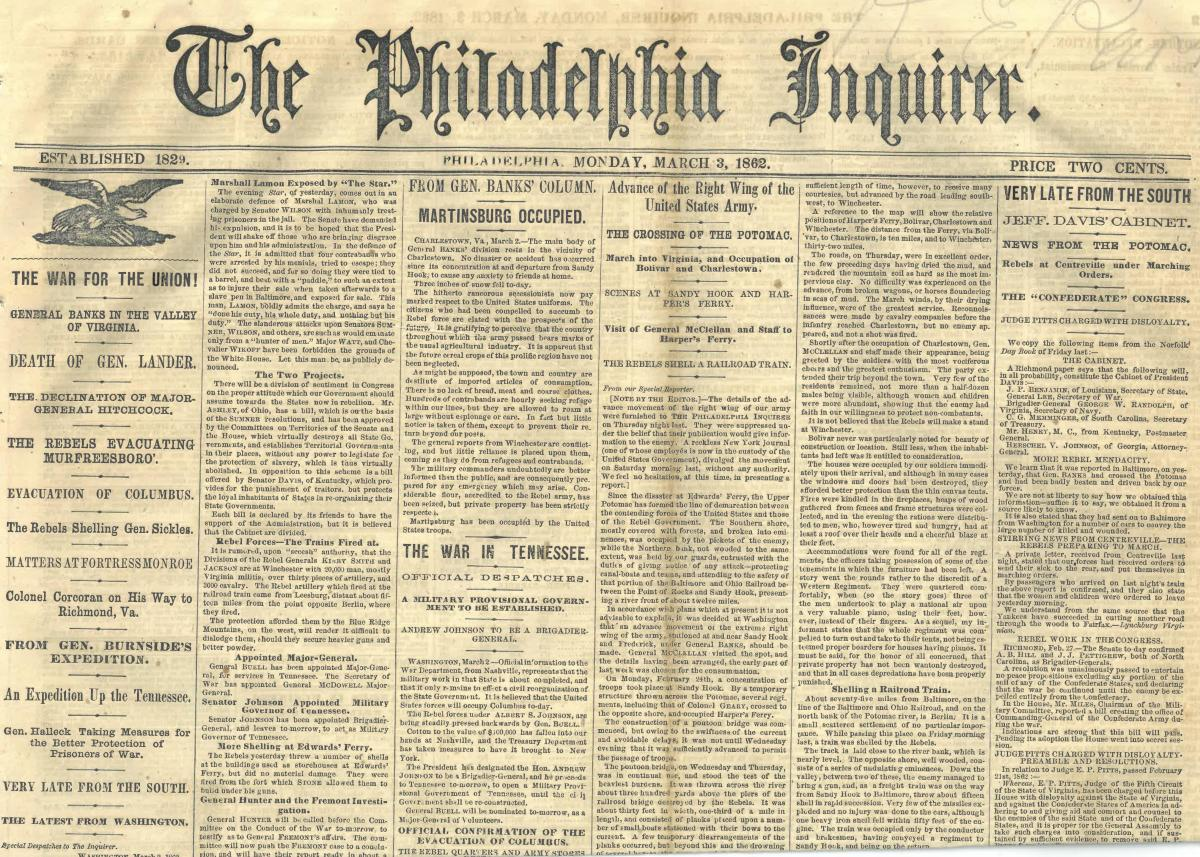 Civil War Newspapers