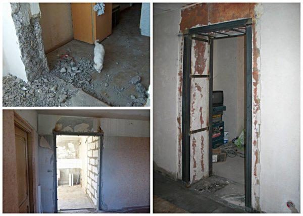 Как оформить дверной проем с дверью фото: Варианты ...