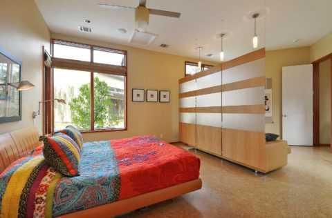 Как сделать зал и спальню в одной комнате фото – Спальня ...