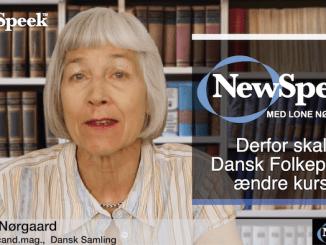 Lone Nørgaard - Derfor skal Dansk Folkeparti ændre kurs