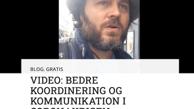 Af Lone Nørgaard. NewSpeek har tidligere gjort opmærksom på Per Brændgaards blog, hvor bl.a. følgende indlæg er blevet bragt:  https://perbraendgaard.dk/2021/08/30/covid-19-kan-vaere-planlagt-folkemord/  https://perbraendgaard.dk/2021/08/30/aabent-brev-om-covid-19-vaccination-til-alle-gymnasier-i-danmark/  https://perbraendgaard.dk/2021/08/30/flere-ytringer-fra-en-ytringskriminel/  https://perbraendgaard.dk/2021/08/30/afsloering-af-regeringens-coronatrick/   Til trods for at corona-bedraget er blevet gennemlyst i hvert fald det seneste halve år på en række alternative platforme og på sociale medier som Twitter og Facebook - altså i det omfang, FB og Twitter ikke har fjernet kritikernes profiler! - sker der ikke rigtigt noget gennembrud i den brede befolkning.  Af den enkle grund at censuren er så massiv på de statsstøttede medier, at propagandaen om 'pandemien' får lov til at køre lystigt, og ikke mindst fordi de fleste ikke orker eller magter at sætte sig ind i sagerne. Forståeligt nok, men også begrædeligt. På den baggrund efterlyser Per Brændgaard en bedre koordinering og kommunikation i Coronakrigen - som han kalder det.