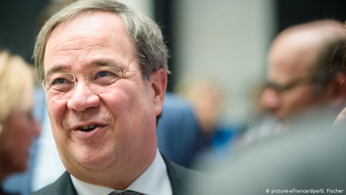 Armin Laschet, the CDU candidate for the German chancellorship (picture-alliance / dpa / G. Fischer)