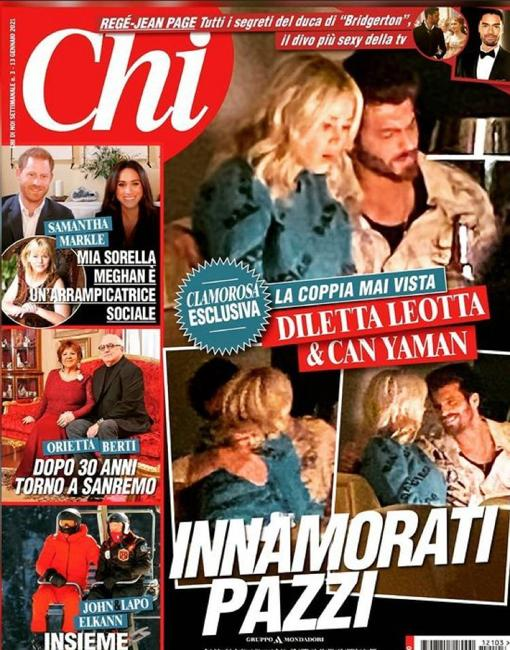 Cover of the magazine «Chi»