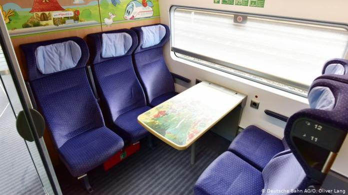 Family compartment in ICE (Deutsche Bahn AG / O. Oliver Lang)
