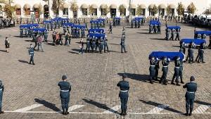 В Харькове простились с погибшими в авиакатастрофе Ан-26