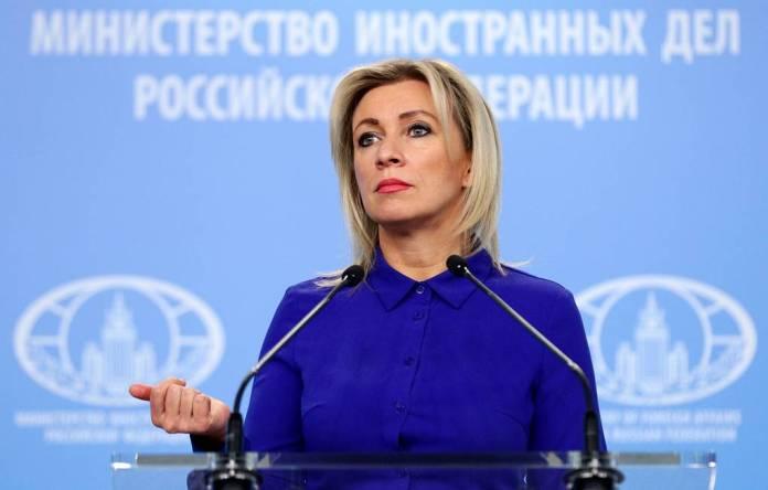 Захарова назвала политической акцией присутствие западных дипломатов на суде над Навальным