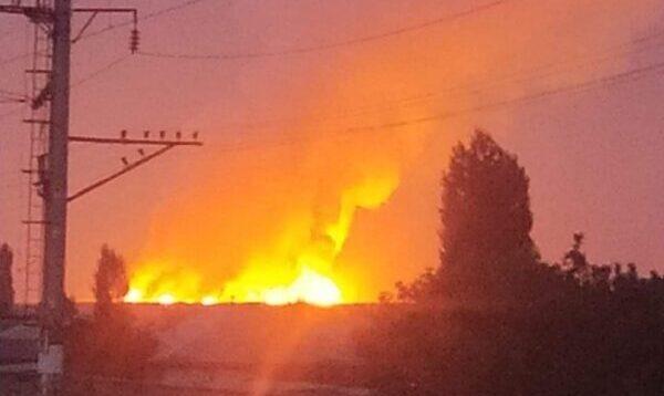 Число погибших при взрывах боеприпасов на складах воинской в Казахстаневозросло до 12 человек