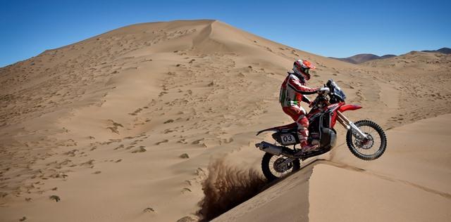 Paulo Gonçalves mantém luta pelo pódio no Atacama Rally