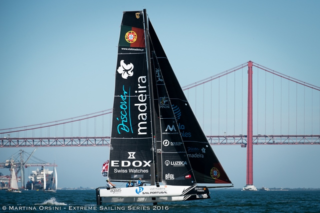 extreme sailing series Lisboa 2016