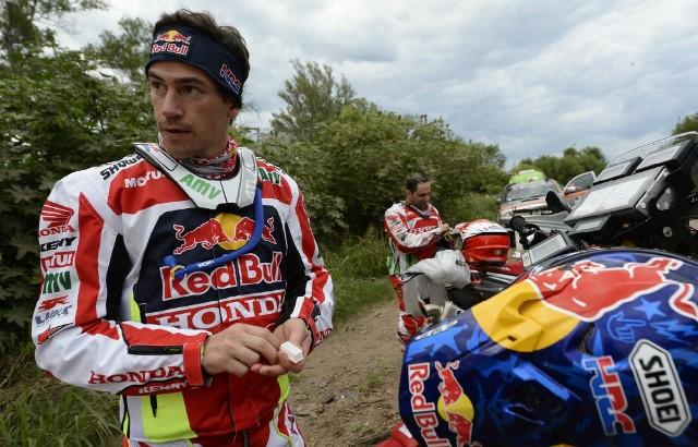 Afinal... Paulo Gonçalves não venceu a etapa!