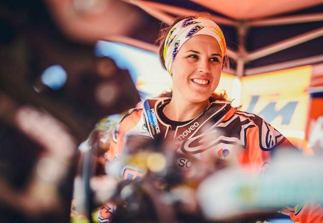 Laia Sanz a mulher que mais ralis Dakar terminou nas motos
