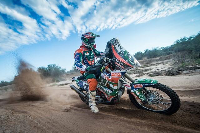 """Patrão fecha """"Top 20"""" no Dakar 2017"""