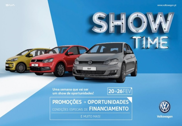 "Volkswagen lança ""Show Time"""