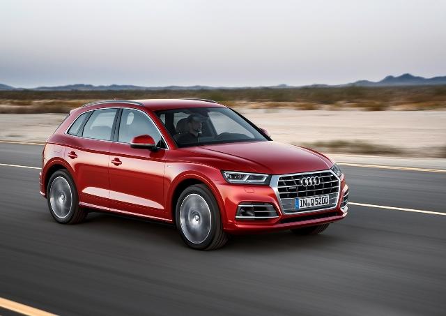 Novo Audi Q5 conquista máximo de 5 estrelas nos testes do Euro NCAP