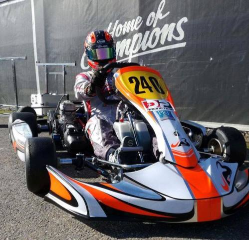 João Ferreira no TOP5 da 1ª ronda do Europeu de Karting X30 Sénior em Genk
