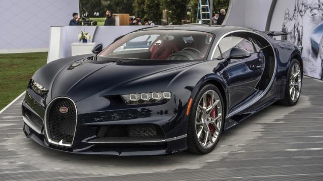 Bugatti passeou-se pelo Alentejo a mais de 350km/h