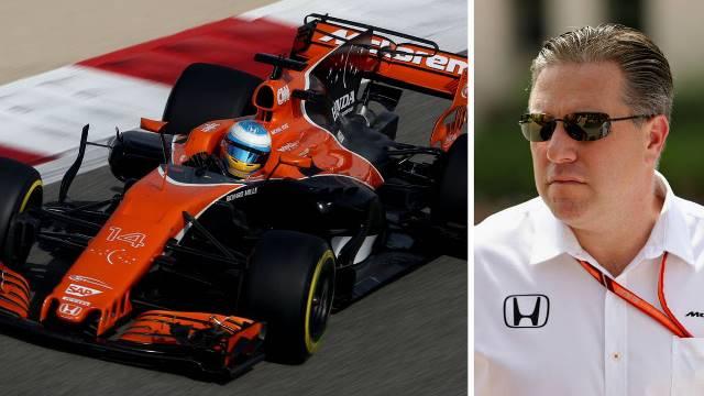 """Zak Brown """"Só seguramos o Alonso se lhe dermos um bom carro"""""""