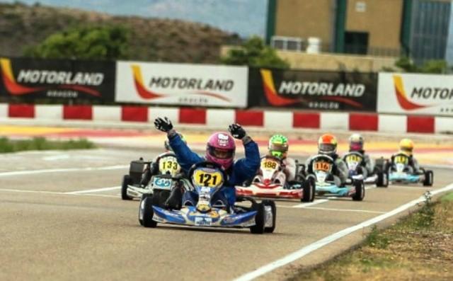 Portugueses em bom plano nas Series Rotax em Aragón