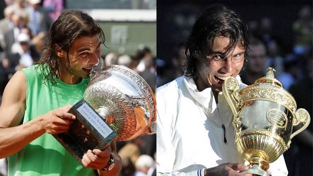 Nadal em busca da dobradinha Roland Garros-Wimbledon