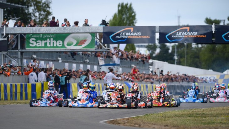 Le Mans prepara as 24H de karting