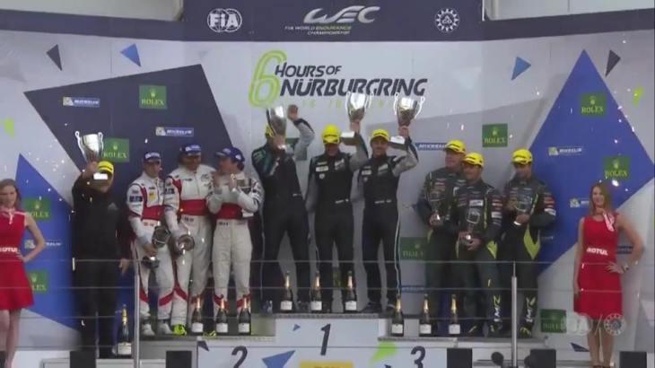 Pedro Lamy sobe ao pódio em Nurburgring