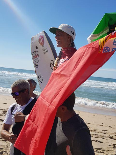 ÚLTIMA HORA: Joana Schenker campeã do Sintra Portugal Pro