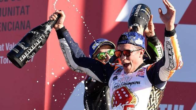 Márquez sagra-se Campeão mas é de Pedrosa a vitória em Valência