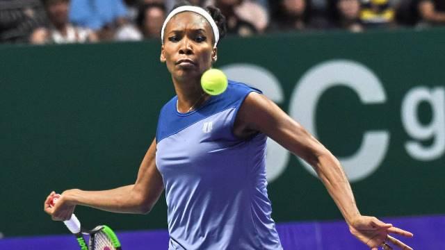 Venus Williams tenciona continuar no activo até Tokyo 2020