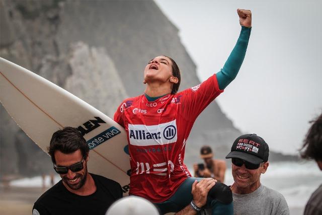 Temporada internacional de 2017 chega ao fim para os surfistas lusos