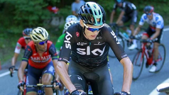 Froome altera o seu calendário com o Il Giro de Italia na mira